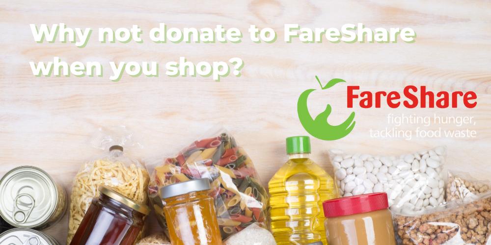 Charitable Shopping Banner